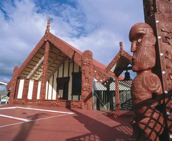 Rotorua_NZ_ Maori meetinghouse