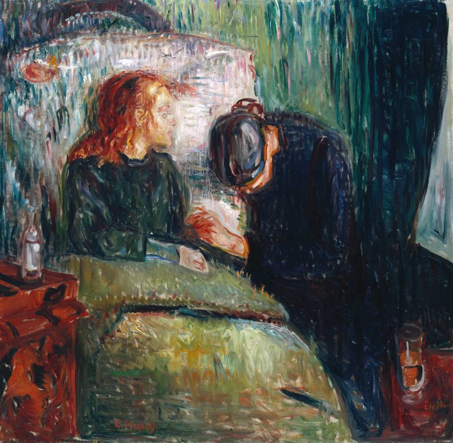 The Sick Child 1907 by Edvard Munch 1863-1944